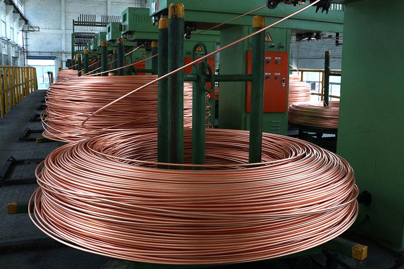 无氧铜杆(电工用铜线坯)