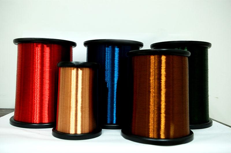 耐电晕漆包线(200级聚酰胺酰亚胺复合聚酯或聚酯亚胺漆包铜圆线)